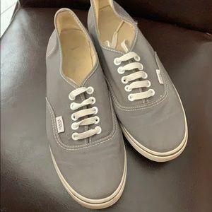 Vans Grey Sneaker .. Very Comfortable